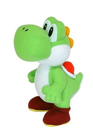 Nintendo Super Mario - Muñeco de peluche de Yoshi (24 cm)
