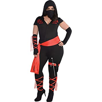 Amazon.com: Dragon Fighter Ninja Costume – Plus tamaño ...
