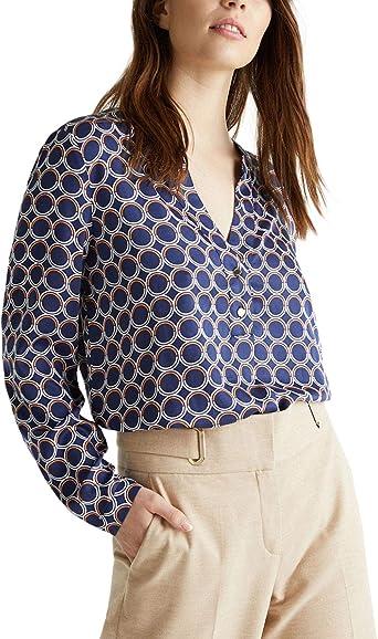 ESPRIT Collection Camisa Henley para Mujer: Amazon.es: Ropa y accesorios