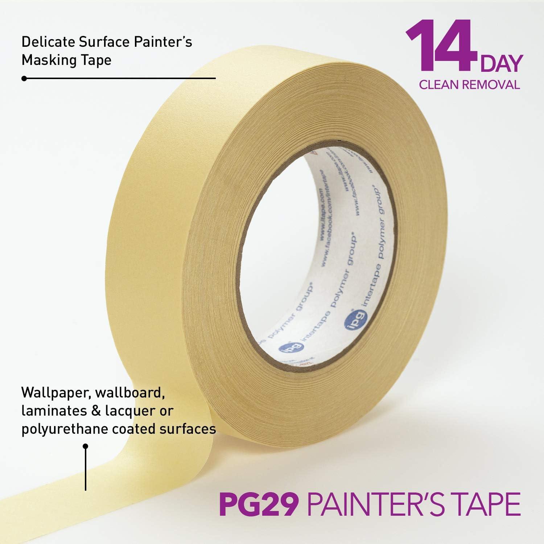 24-Pack Intertape Polymer Group IPG American Utility Grade Masking Tape Tan, 1.41 x 55 yd