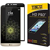 Taslar Lg G5 Screen Protector, Edge-To-Edge Full Coverage Tempered Glass Screen Protector (Ultra High Definition Invisible) - (Black)