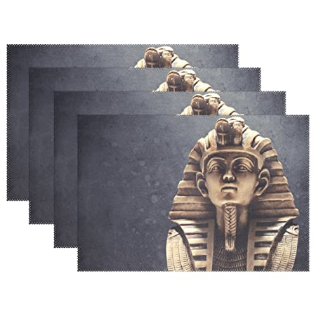 baihuishop piedra Faraón Tutankhamen máscara 12 x 18
