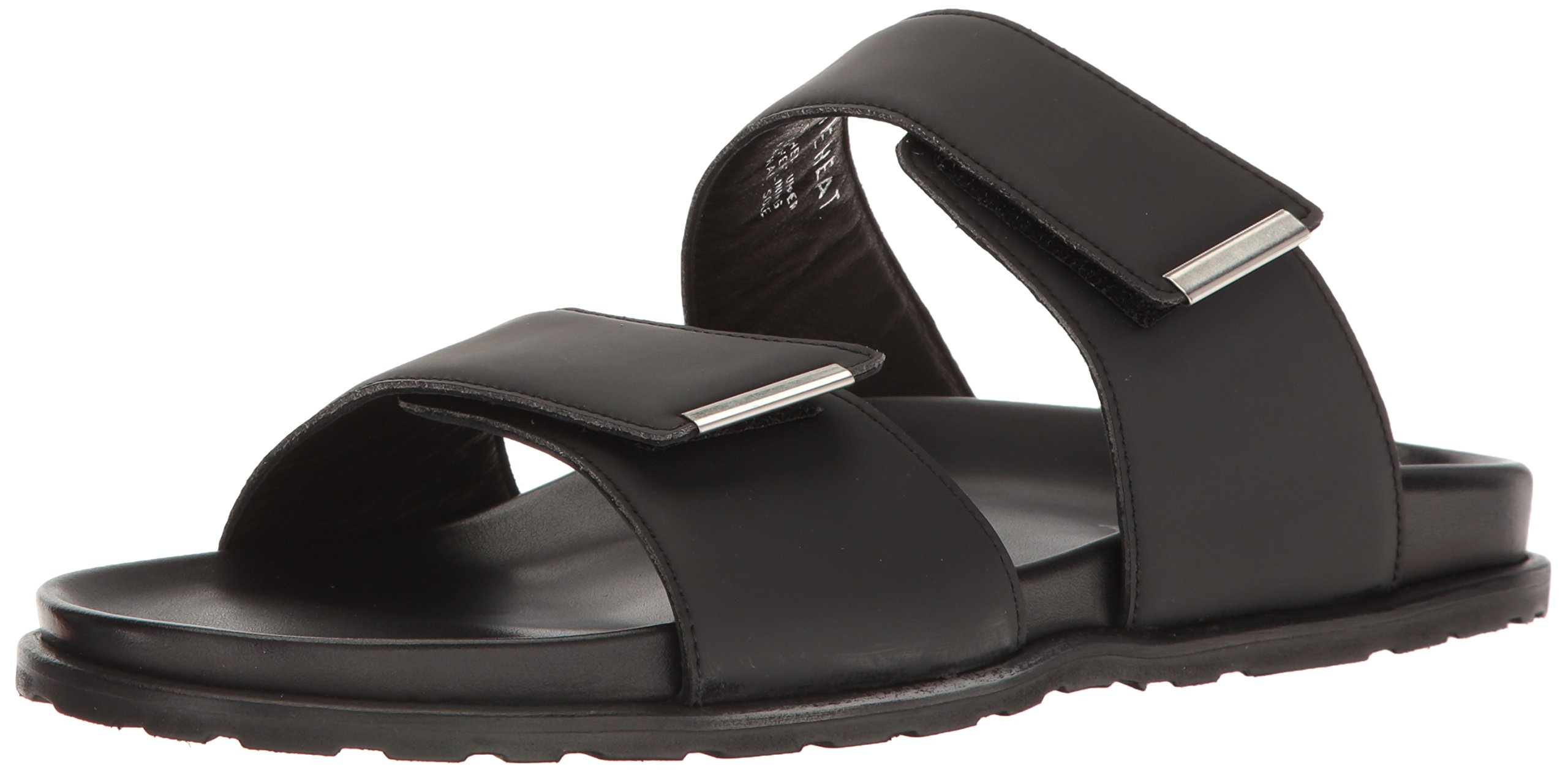 Kenneth Cole New York Men's in The Heat Slide Sandal, Black, 12 M US