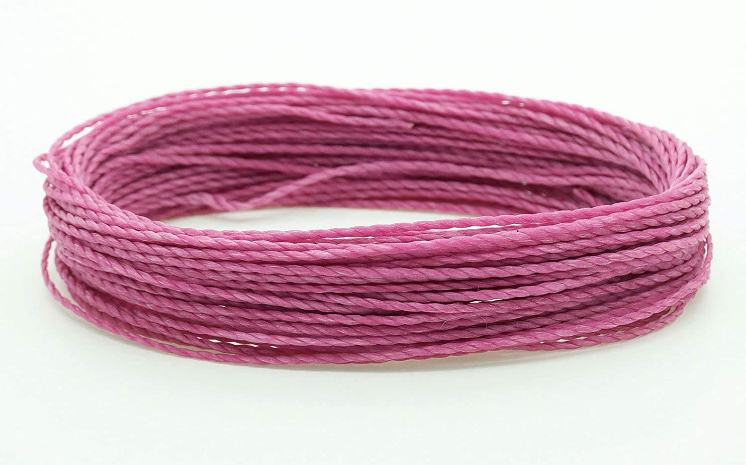 MINT 1mm Waxed Polyester Twisted Cord Macrame Bracelet Thread Artisan String 30yards Skein