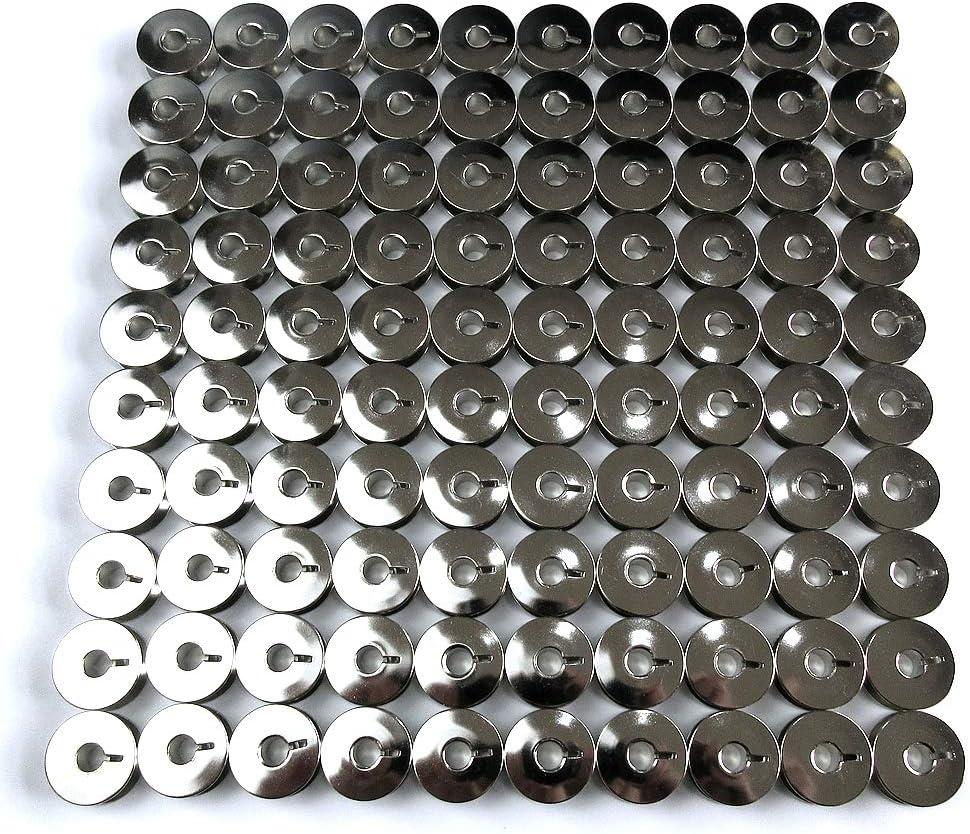 100 bobinas con caja para máquina de coser Singer 20U Zig Zag ...