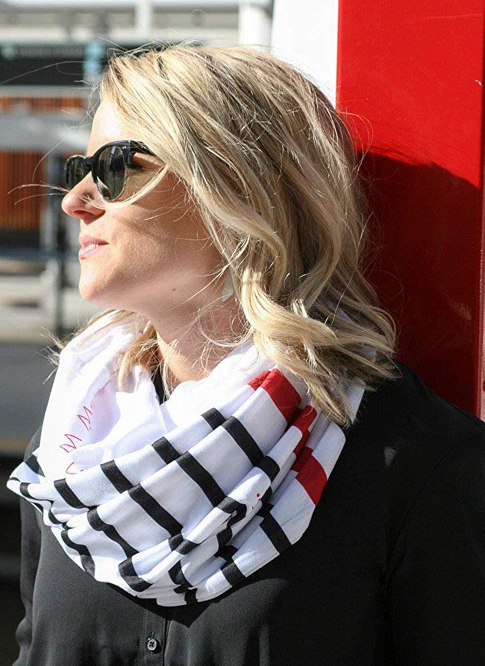 WensLTD Gift Clearance! Women Loop Scarf Infinity Wrap Hidden Zipper Pocket Warm Travel Couple Scarves (A) by WensLTD (Image #3)