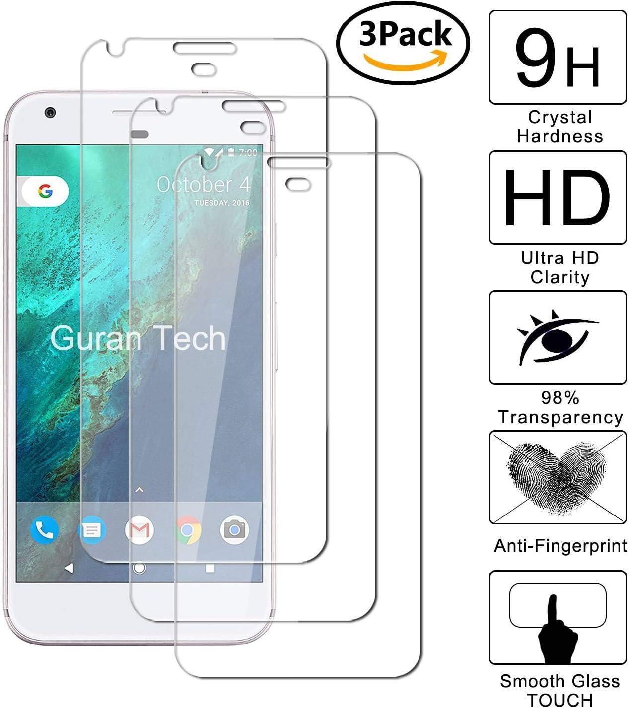 Guran [3-Unidades] Protector de Pantalla Vidrio Cristal Templado para Lenovo ZUK Z2 Pro Smartphone Cristal Vidrio Templado Film (9H, 2.5D Edge, 0.3mm): Amazon.es: Electrónica