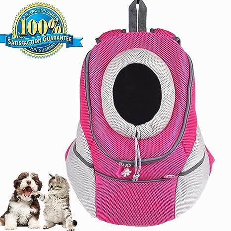 Aoxsen Mochila para llevar mascotas, mochila apta para viajes aéreos, bolsa de