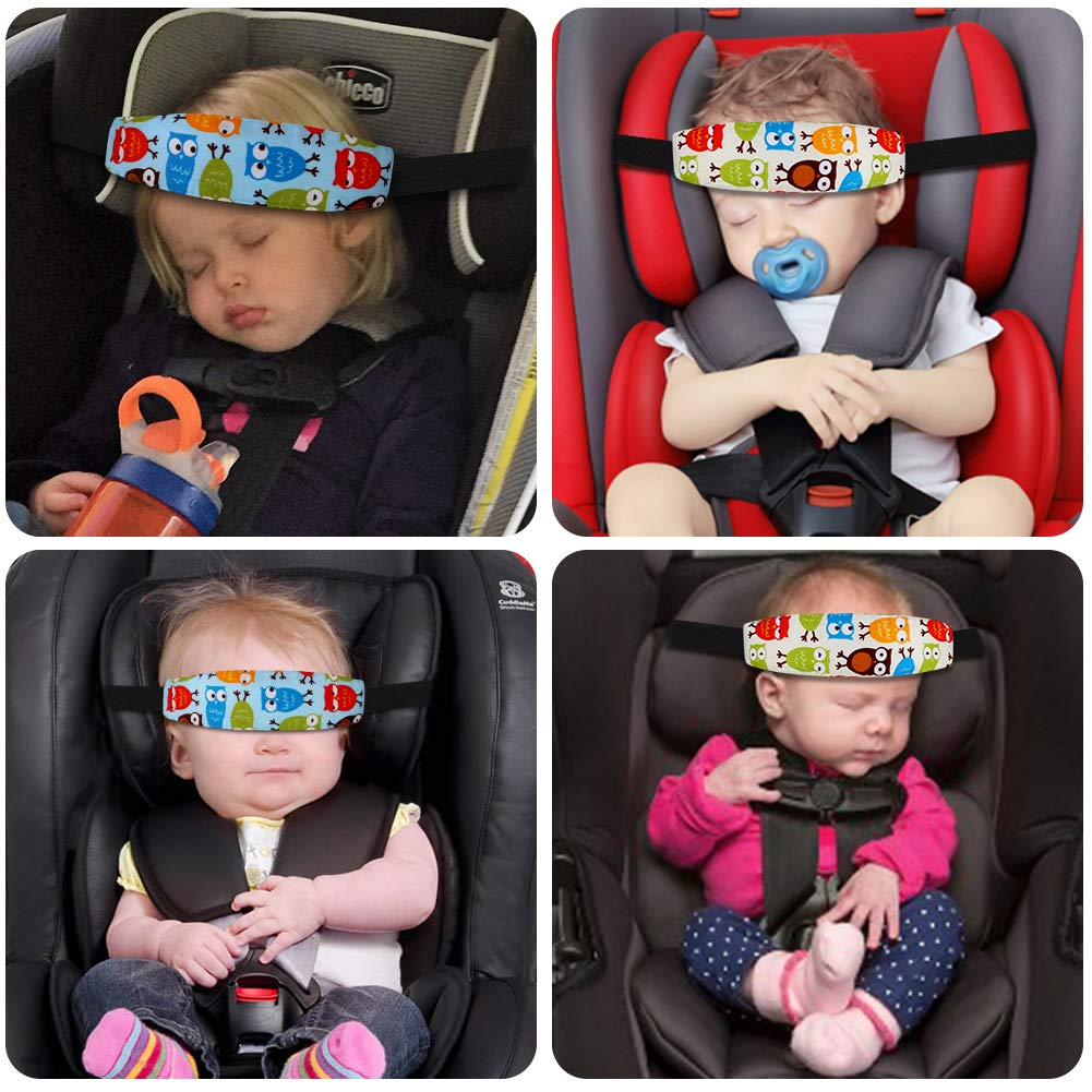 Accmor Baby Car Seat Head Support 2 Pack Infants Safety Sleep Neck Relief Stroller