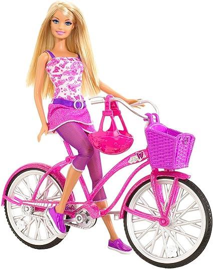 Lot of 2 Mattel Barbie Bikes New without Box