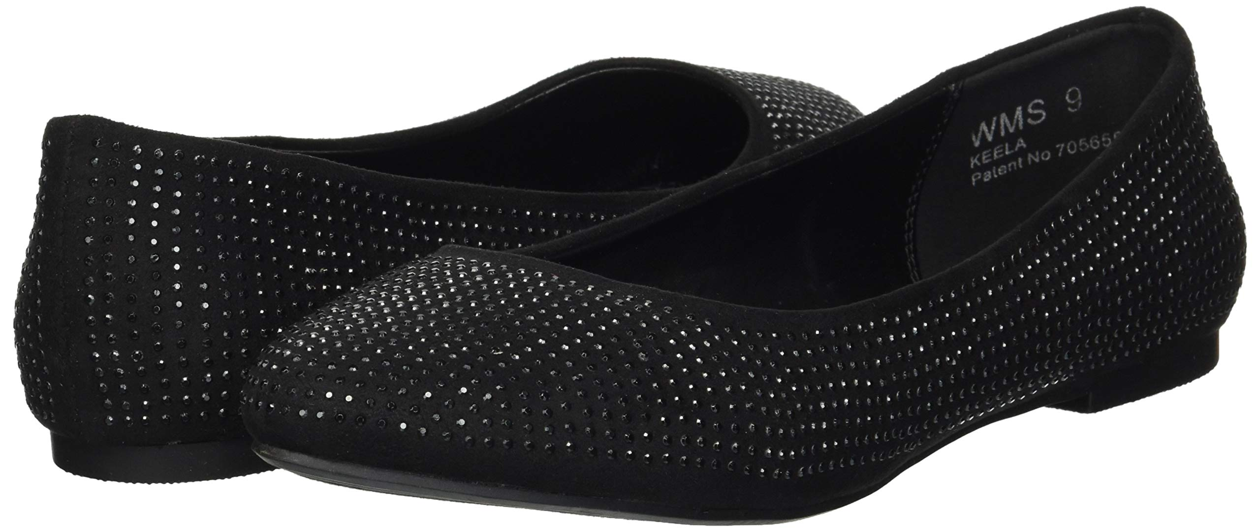 Report Women's Keela Ballet Flat, Black Fox Suede, 9 M US by Report (Image #5)