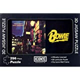 OFFICIAL DAVID BOWIE LICENSED ZIGGY STARDUST 256 PIECE 3D LENTICULAR JIGSAW PUZZLE