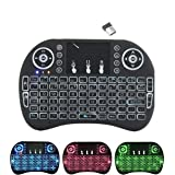EMEBAY - 2.4GHz i8 Mini Wireless Keyboard with Touchpad Mouse LED Backlit for PC Xbox 360 Xbox One PS3 PS4 Google…