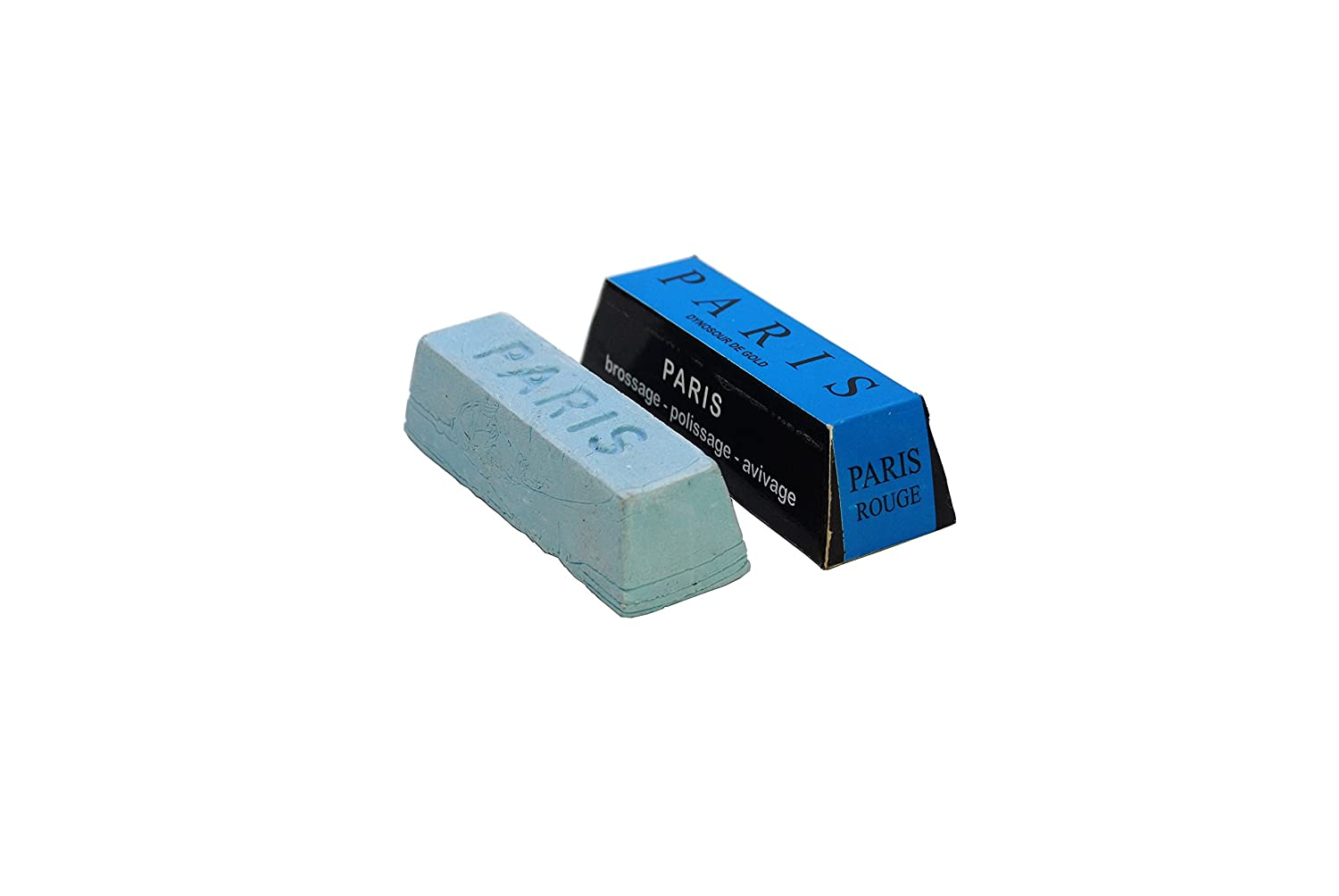 Proops Paris Small Blue Jewellers Polishing Compound Buffing Finishing Soap Bar (X8141). Free UK Postage.