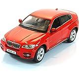 Jamara 403925 BMW X6 - Coche miniatura (escala 1:14), color rojo