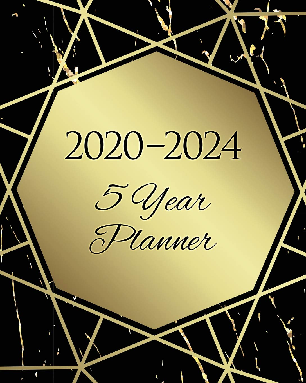 2020-2024 Five Year Planner: 60 Months Calendar, 5 Year ...