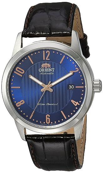 Orient Reloj Analógico para Hombre de Automático con Correa en Cuero FAC05007D0: Amazon.es: Relojes