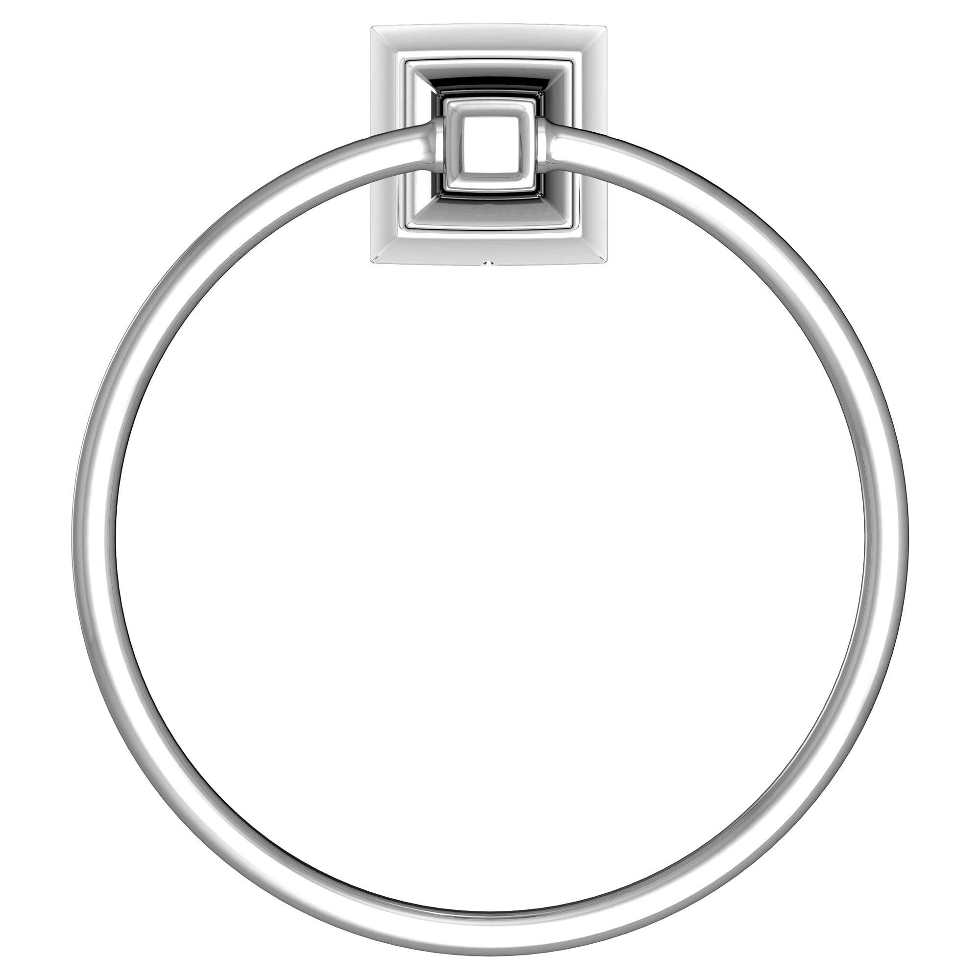 American Standard 7455190.002 TS Series Towel Ring, Polished Chrome