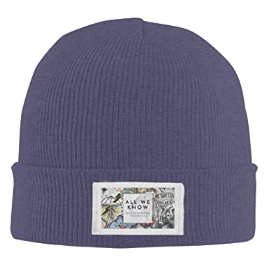 3bf12653aae Amazon.com  The Chainsmokers All We Know Pattern Unisex Beanie Hat ...
