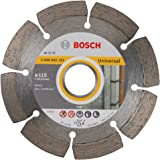 Bosch 2 608 602 191  - Disco tronzador de diamante Standard for Universal - 115 x 22,23 x 1,6 x 10 mm (pack de 1)