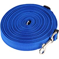 Domybest 10m/15m/20m/30m/50m Nylon Adjustable Long Dog Pet Puppy Rope Training Lead Leash Chain Dog Leash Rope 4 Color Choice