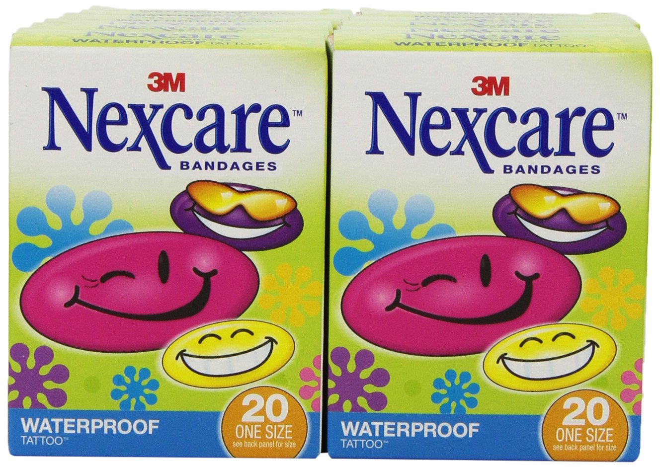 Amazon Com Nexcare Bulk Tattoo Waterproof Bandages Stays On When