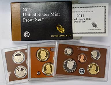 2008 SILVER~US MINT 14 COIN  PROOF SET~ W//STATES /& PRESIDENTS~~OGP