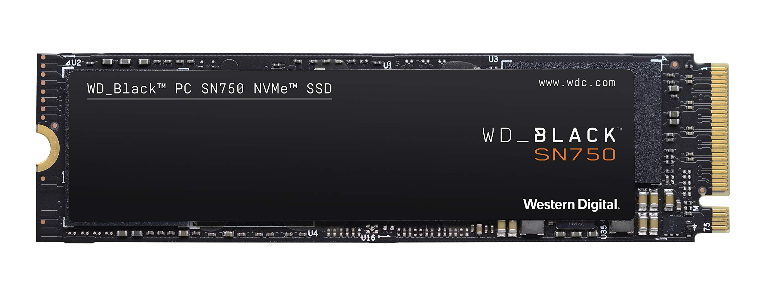 WD BLACK SN750 500GB NVMe Internal Gaming SSD - Gen3 PCIe, M.2 2280, 3D NAND - WDS500G3X0C