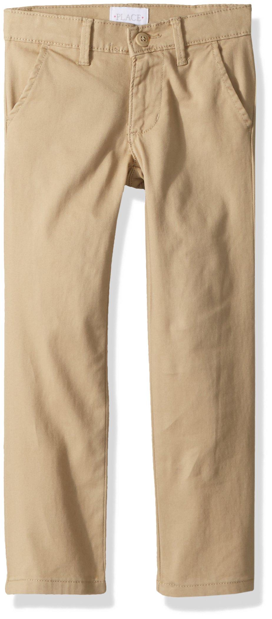 The Children's Place Big Girls' Uniform Skinny Pant, Sandy, 16 by The Children's Place (Image #2)