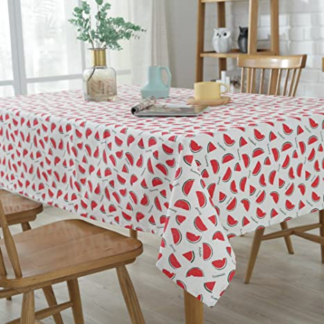 Exceptionnel RUOYOU Flax Tablecloths,Simple Style Table Linen Table Cover Linen Table  Mats For Home