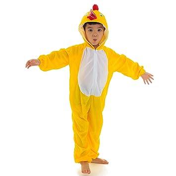 LOLANTA Disfraz de Pollo para niños Disfraz de Cosplay de ...