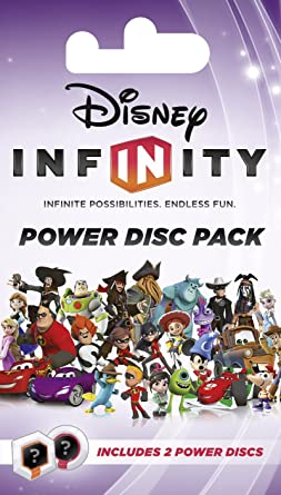 Disney Infinity - Power Disc Pack (2 Power Discs) - 3ª Oleada ...