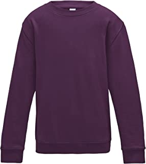 AWDis Just Hoods Kinder Pullover/Sweatshirt, unifarben