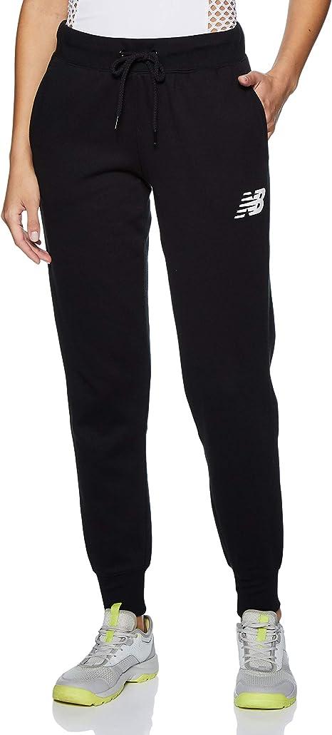 New Balance Core Tapered Sweatpant Pantalones, Mujer: Amazon.es ...