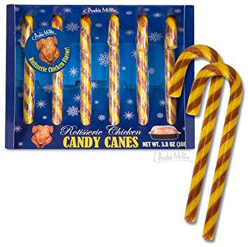 archie mcphee rotisserie chicken candy canes amazon com grocery