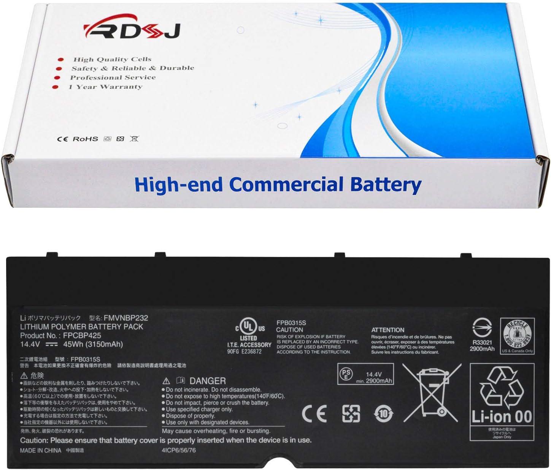 FPCBP425 FMVNBP232 Laptop Battery Compatible Fujitsu Lifebook U745 T935 T904U Series FPB0315S CP703451-01 14.4V 45Wh