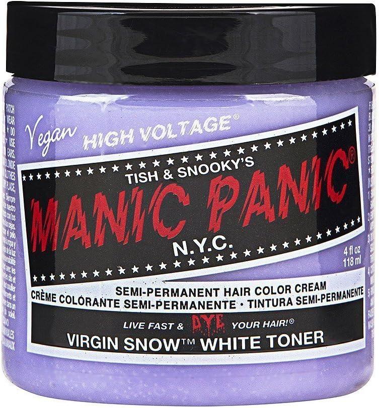Manic Panic Virgin Snow coloración de cabello 118 ml