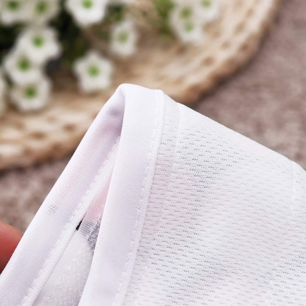 UEETEK Female Pet Dog Puppy Hygiene Diaper Pants Washable Reusable Nappy Pants Size S 2PCS Rose Red