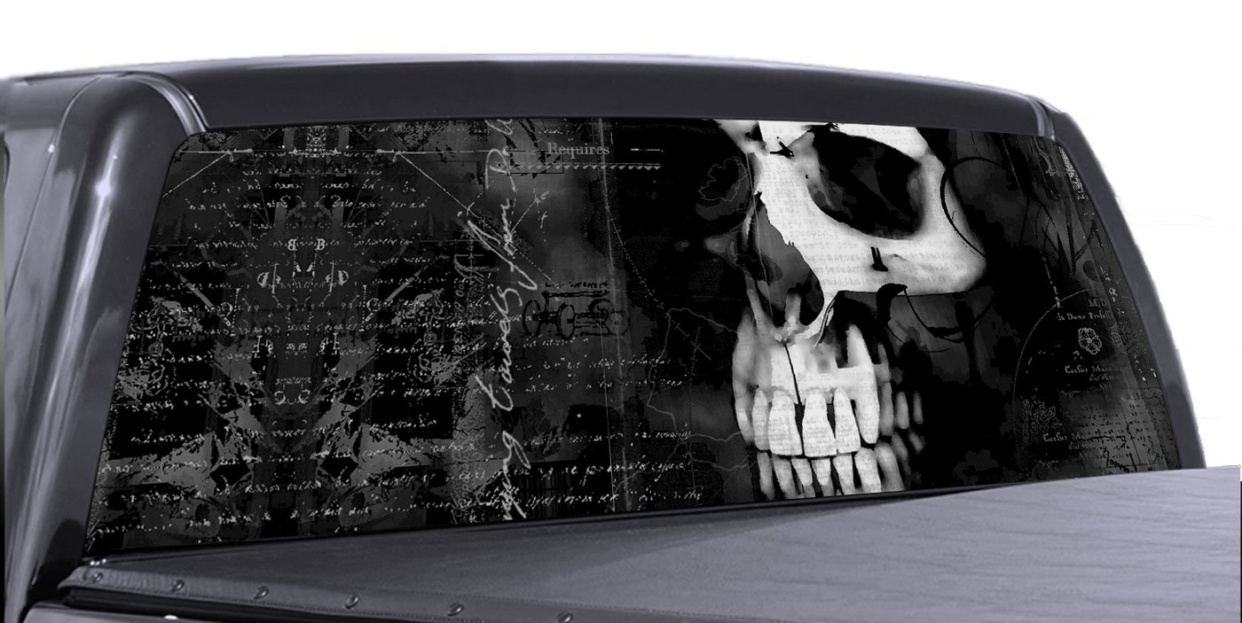 Vuscapes Truck Rear Window Graphic