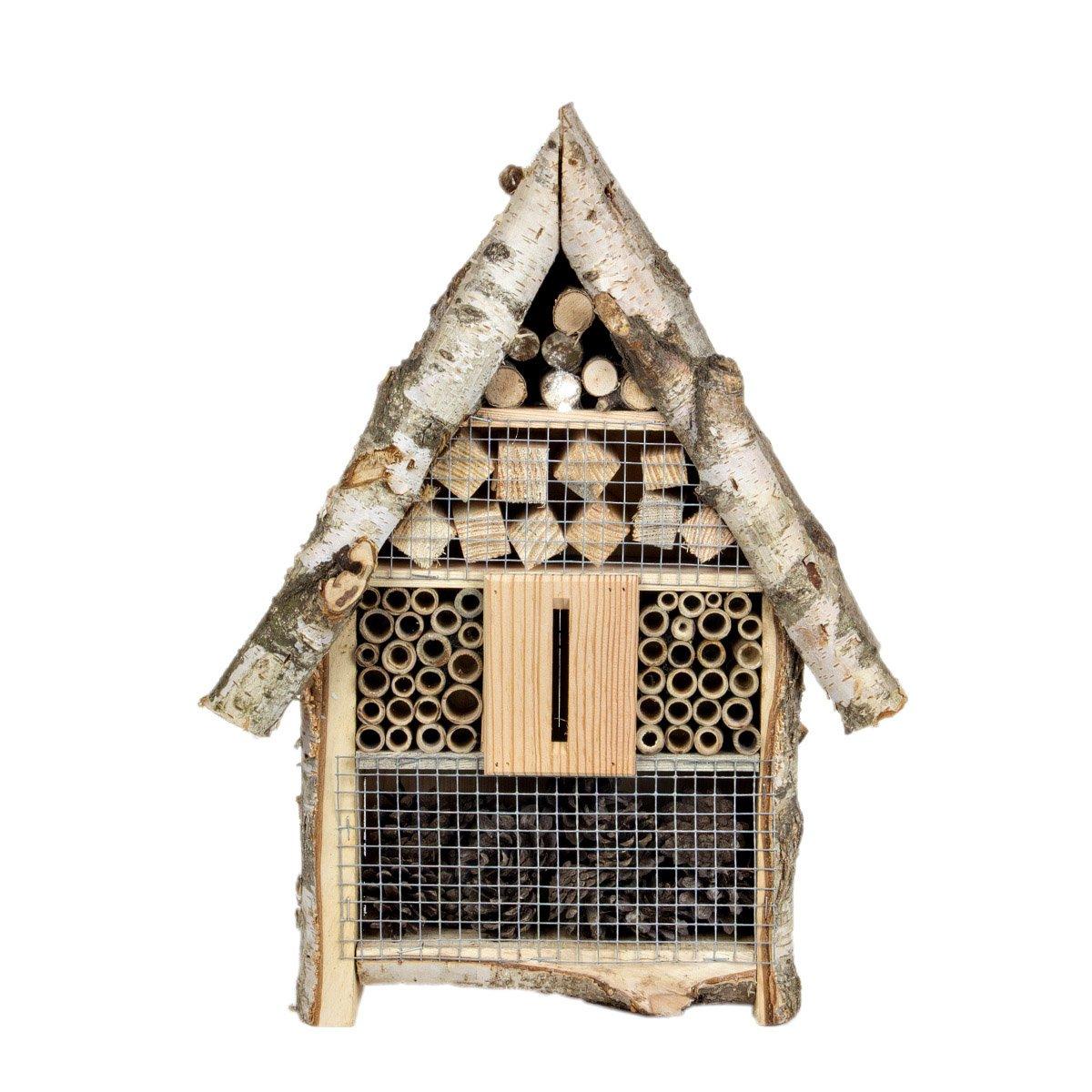 Bienenhaus Futterstelle XL Insektenhaus Insektenhotel Holz Nistkasten Magic Wood Sp. z o.o.