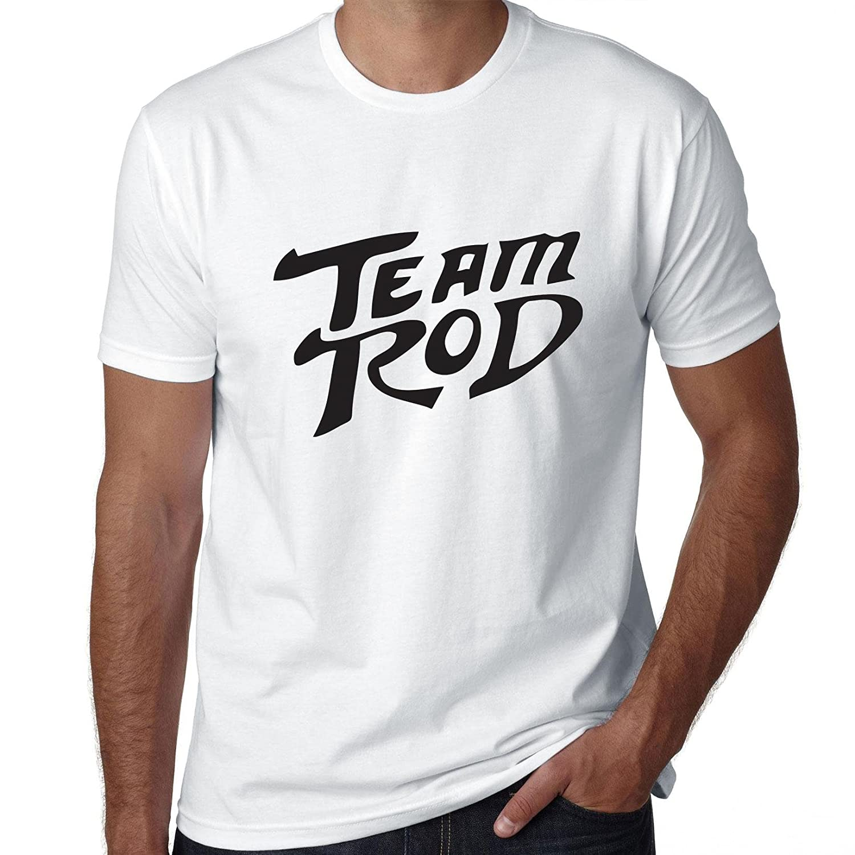03793874f Amazon.com: Hollywood Thread Rod Kimble - Team Rod Support Mens 100% Cotton  T-Shirt: Clothing