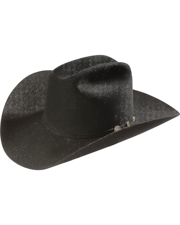 848ce48462a14 Stetson Men s 100X El Presidente Fur Felt Western Hat at Amazon Men s  Clothing store  Cowboy Hats