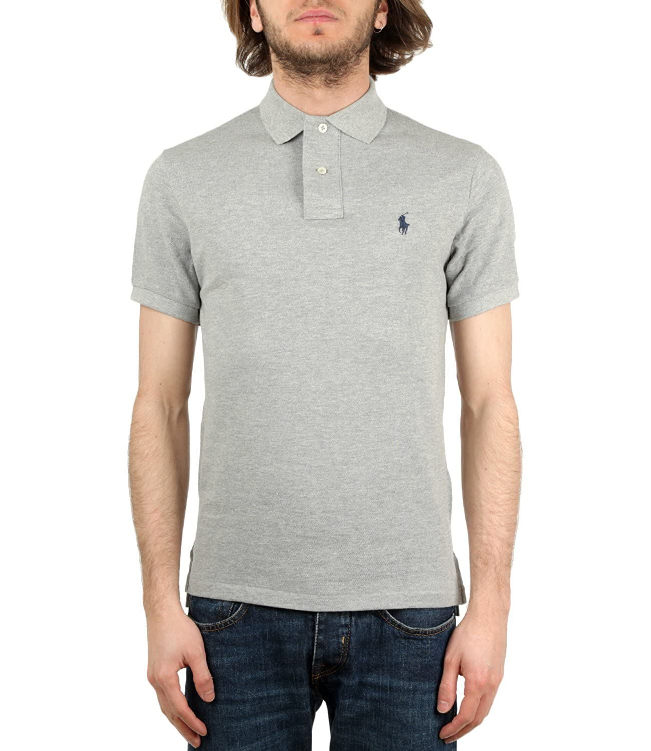 Polo Ralph Lauren Polo in Piquet Slim-Fit Uomo Mod. 710680784 XL ...