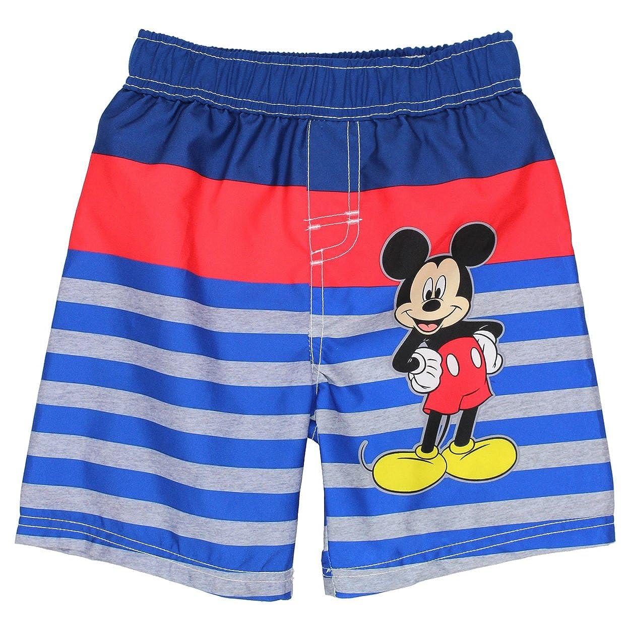 fa47067df5 Amazon.com: Mickey Mouse Boys Swim Trunks Swimwear (Baby/Toddler): Clothing
