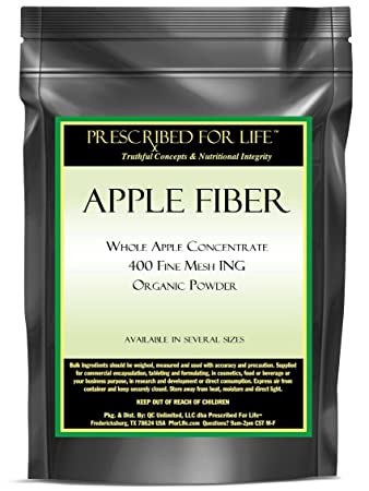Amazon.com: Apple Fiber - Whole Apple Concentrate - 400 Fine Mesh ...