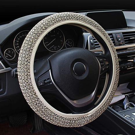 Amazon.com: Holdream - Funda para volante de coche, elástica ...