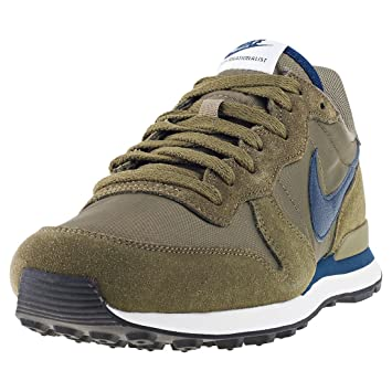 Nike Internationalist homme  Sandales Compensées homme Internationalist Vert vert olive 70bb5a