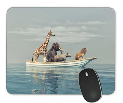 0b0dcf0bb080c Amazon.com: Wild animals Mouse Pad Office Mouse Pad Gaming Mouse Pad ...