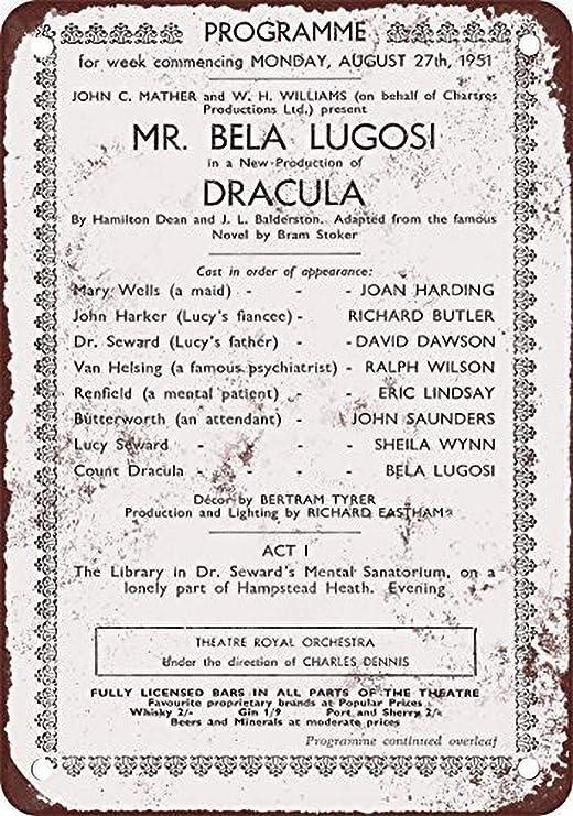BORJOR Bela Lugosi as Dracula In London -Cartel de Pared ...