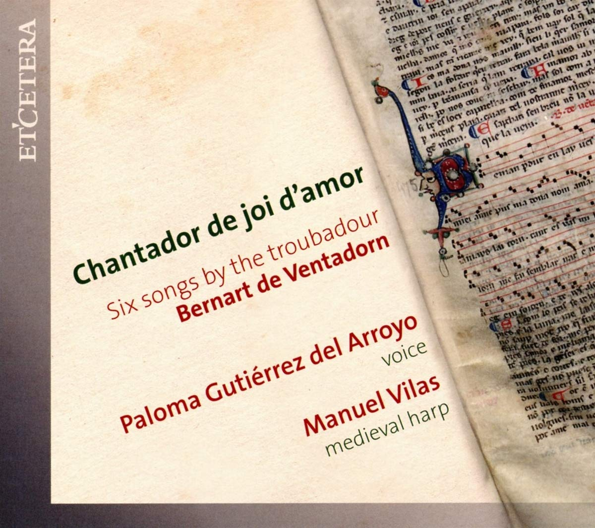 Six Songs By The Troubadour Bernart De Ventadorn: Gutierrez Del Arroyo,Paloma: Amazon.es: Música